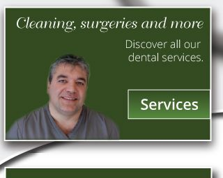 Cleaning, surgeries and more – Discover all our dental services.